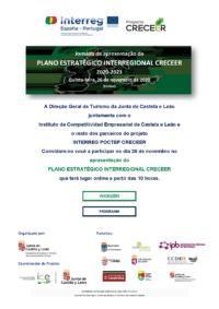 Apresentação em conferência do plano inter-regional PROYECTO CRECEER